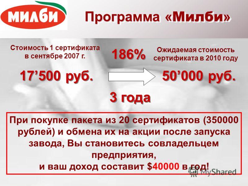 Общий объем продукции при приемке 400 т молока и 1000 т сыворотки в сутки WPH8T$320000 Альфа-лактоальбумин 2T2T$60000 Галакто-олигосахариды 10T$68000 MPC13.5T$141750 Пищевая лактоза 29T$72500 Фармакопейная лактоза 20T$90000 Масло сливочное (82,5% ж.)