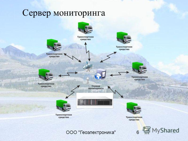 ООО Геоэлектроника6 Сервер мониторинга