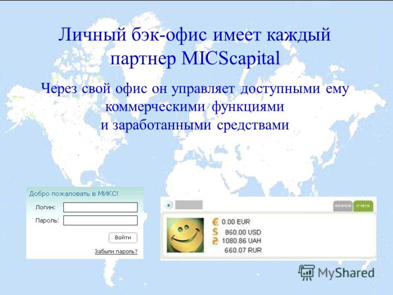 Регистрация в сети MICScapital бесплатна Регистрация возможна только по рекомендации ранее зарегистрированного участника сети, который станет вашим информационным спонсором