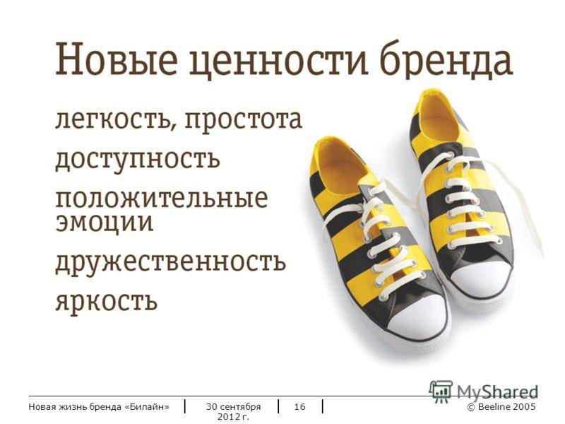 © Beeline 20052 июля 2012 г.Новая жизнь бренда «Билайн»16