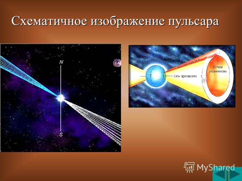 Схематичное изображение пульсара Схематичное изображение пульсара