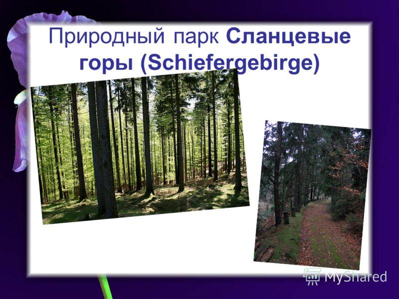 Природный парк Сланцевые горы (Schiefergebirge)