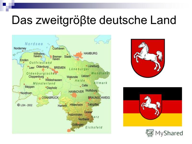 Das zweitgröβte deutsche Land