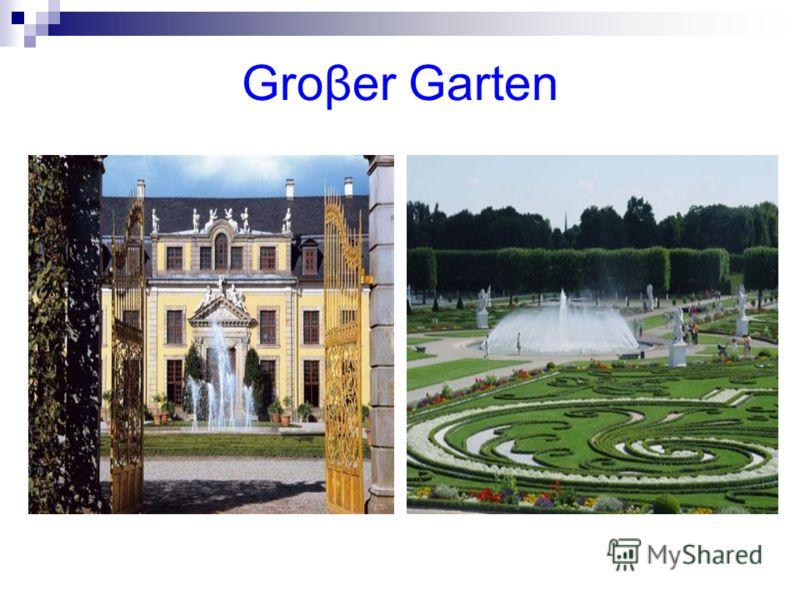 Groβer Garten