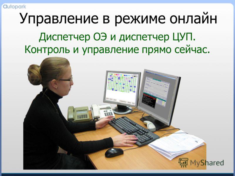 Управление в режиме онлайн Диспетчер ОЭ и диспетчер ЦУП. Контроль и управление прямо сейчас.