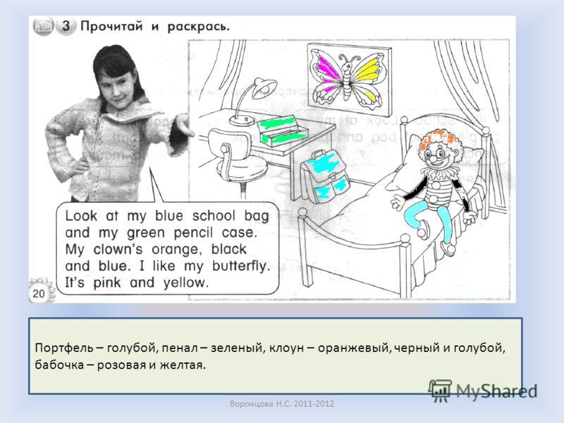 Воронцова Н.С. 2011-2012 Буквы пишем в рабочей тетради только ручкой. Обвести и прописать до конца строки.