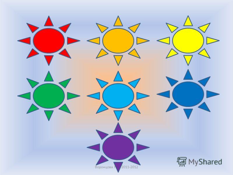 My favourite colour is … Whats your favourite colour? Воронцова Н.С. 2011-2012