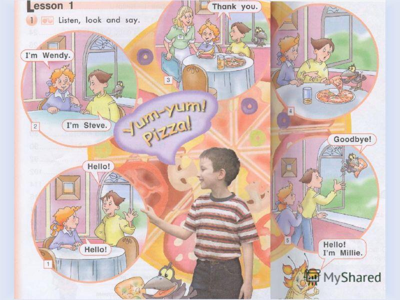 Yum-yum! Pizza! Послушайте историю: Где находятся дети? Воронцова Н.С. 2011-2012