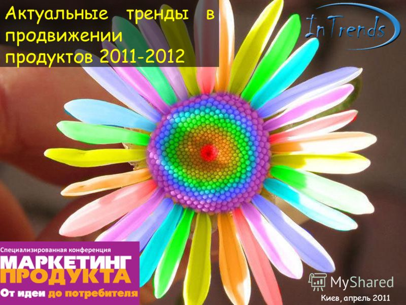 Киев, апрель 2011 Актуальные тренды в продвижении продуктов 2011-2012