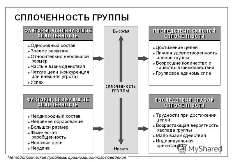 Методологические проблемы организационного поведения