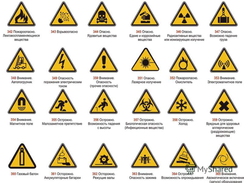Вредные химические вещества со знаком р