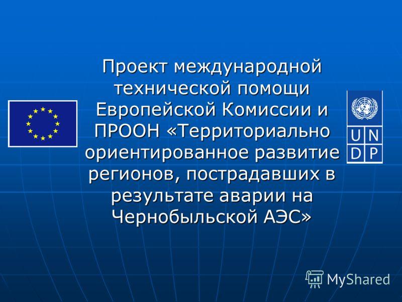 Проект международной технической помощи Европейской Комиссии и ПРООН «Территориально ориентированное развитие регионов, пострадавших в результате аварии на Чернобыльской АЭС»