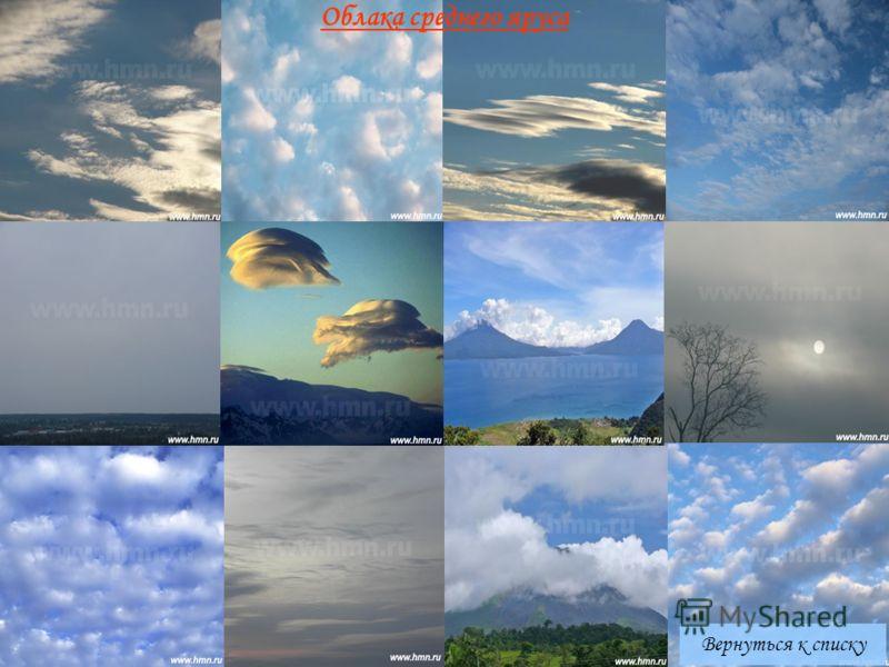Вернуться к списку Облака среднего яруса