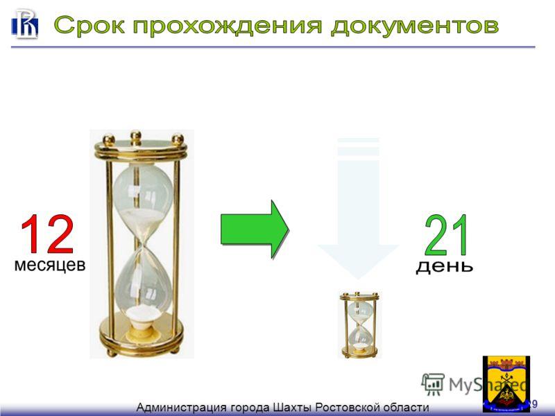 29 Администрация города Шахты Ростовской области