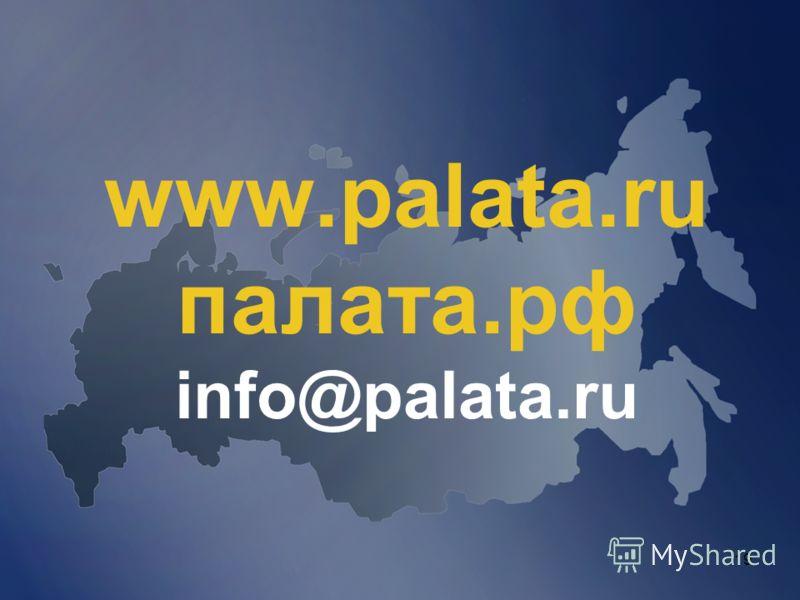 19 www.palata.ru палата.рф info@palata.ru