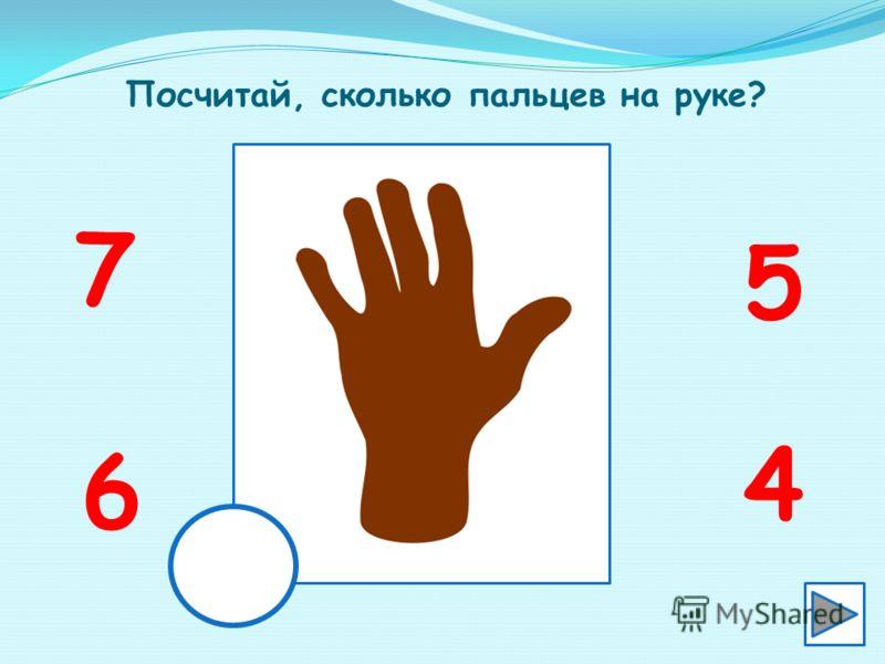 Посчитай, сколько детей на картинке? 6 4 7 5