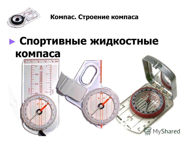 Компас. Строение компаса Спортивные жидкостные компаса Спортивные жидкостные компаса