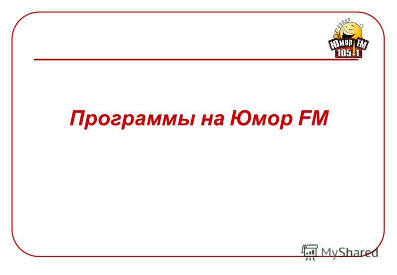 Место и частота прослушивания радиостанции Юмор FM Частота прослушивания Место прослушивания Источник: Радиомониторинг. Агентство рекламных технологий. Май 2006