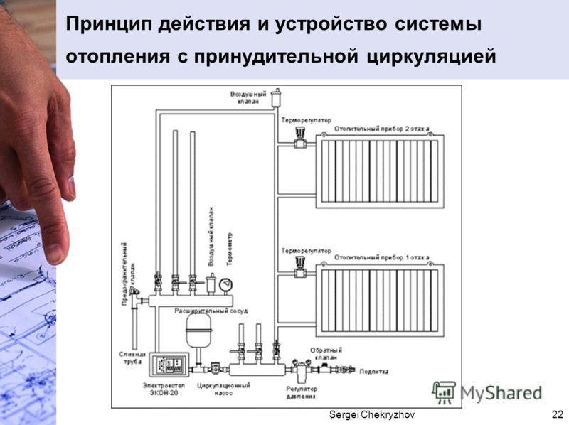 Sergei Chekryzhov22 Принцип действия и устройство системы отопления с принудительной циркуляцией