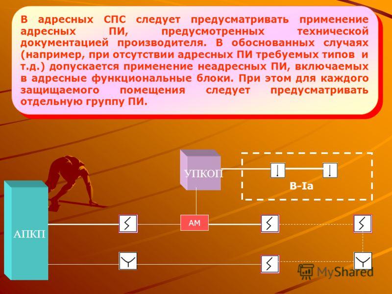 В каждом защищаемом помещении следует устанавливать не менее двух ПИ. В защищаемом помещении допускается устанавливать один ПИ, если одновременно выполняются следующие условия: а) характеристики ПИ позволяют контролировать каждую точку защищаемого по