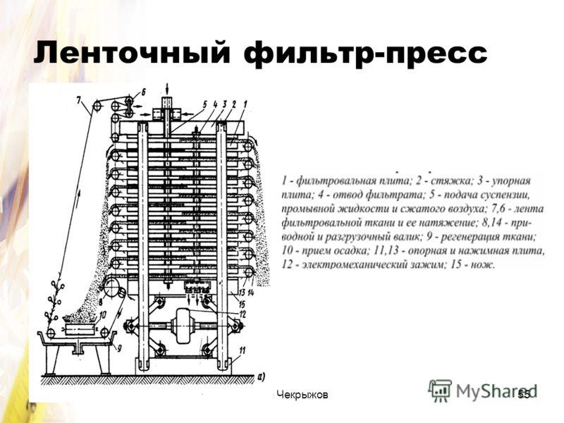 Сергей Чекрыжов55 Ленточный фильтр-пресс
