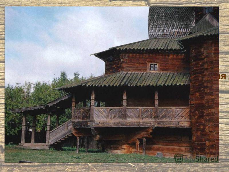 Церковь Преображения из села Спас-Вижи