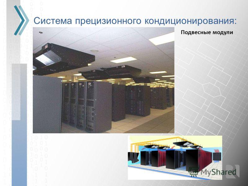 Система прецизионного кондиционирования: Подвесные модули