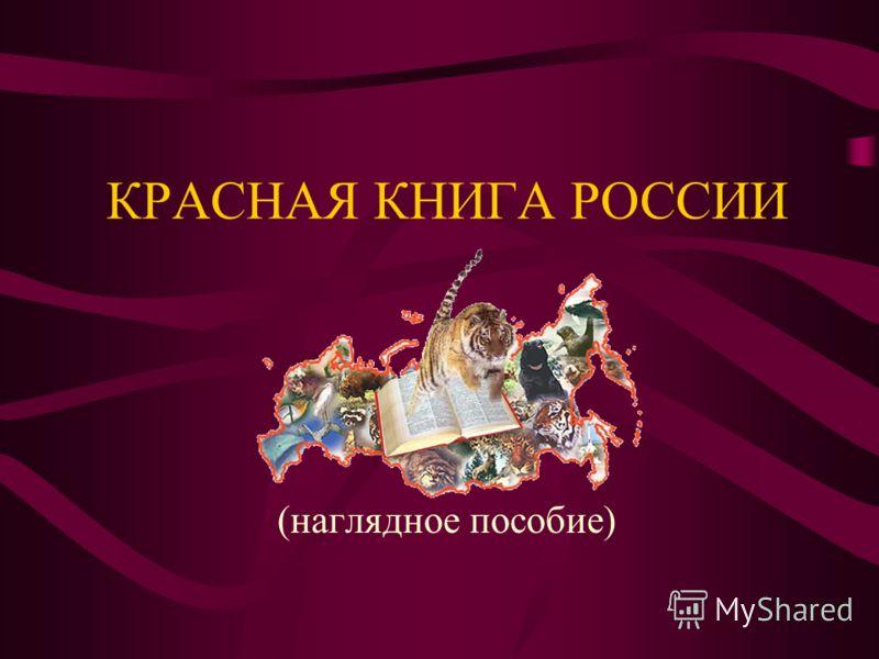 КРАСНАЯ КНИГА РОССИИ (наглядное пособие)