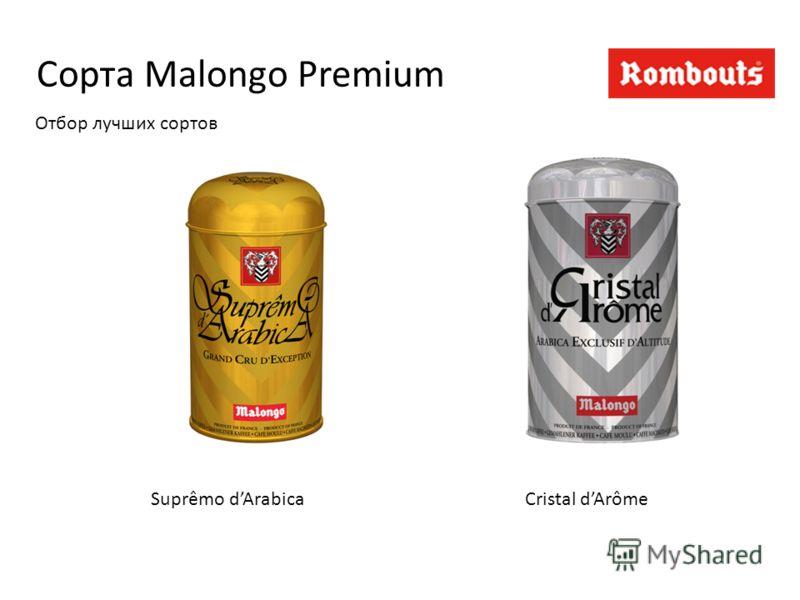 Сорта Malongo Premium Suprêmo dArabicaCristal dArôme Отбор лучших сортов