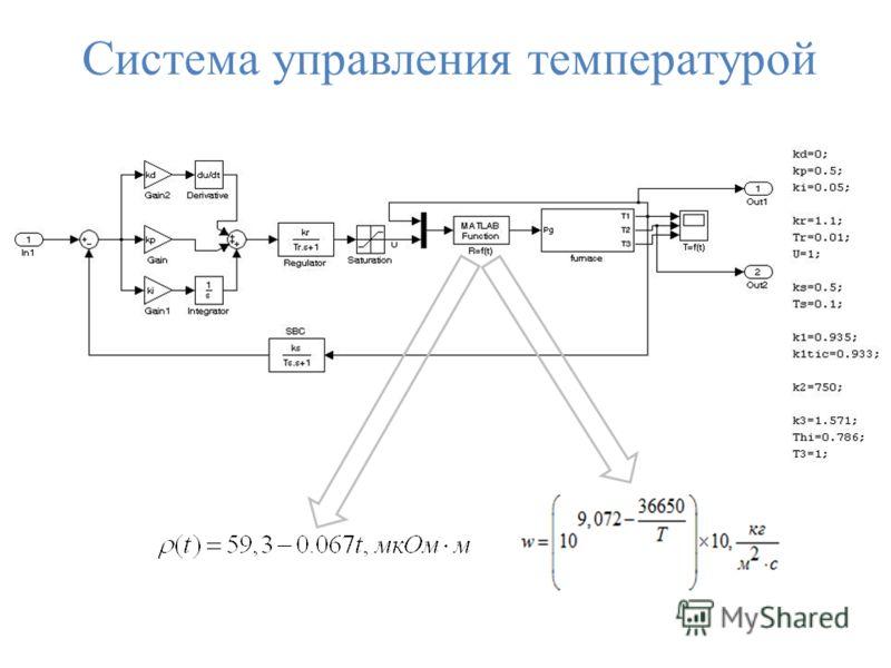 Система управления температурой