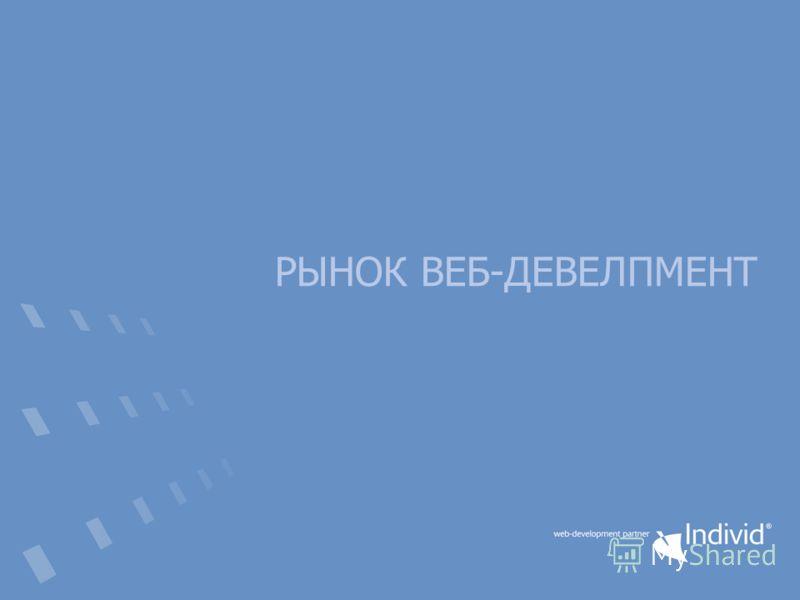 РЫНОК ВЕБ-ДЕВЕЛПМЕНТ