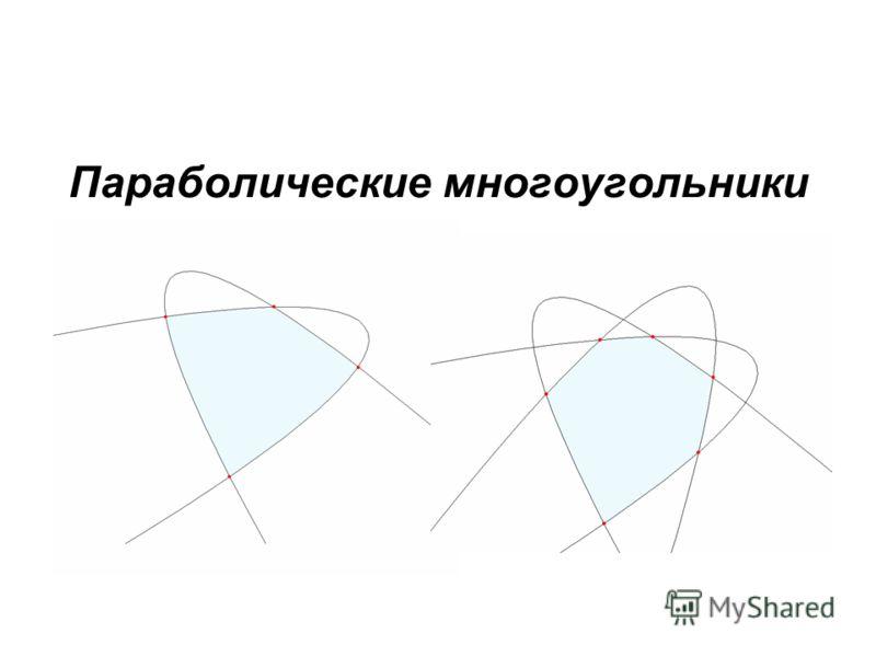 Параболические многоугольники