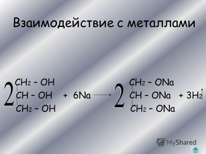 Химические свойства Взаимодействует: 1.сс металлами 2.СС галогеноводородами 3.СС гидроксидом меди(II) 4.СС карбоновыми кислотами 5.СС азотной кислотой