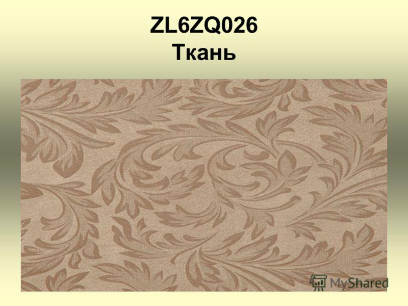 ZL6ZQ026 Ткань