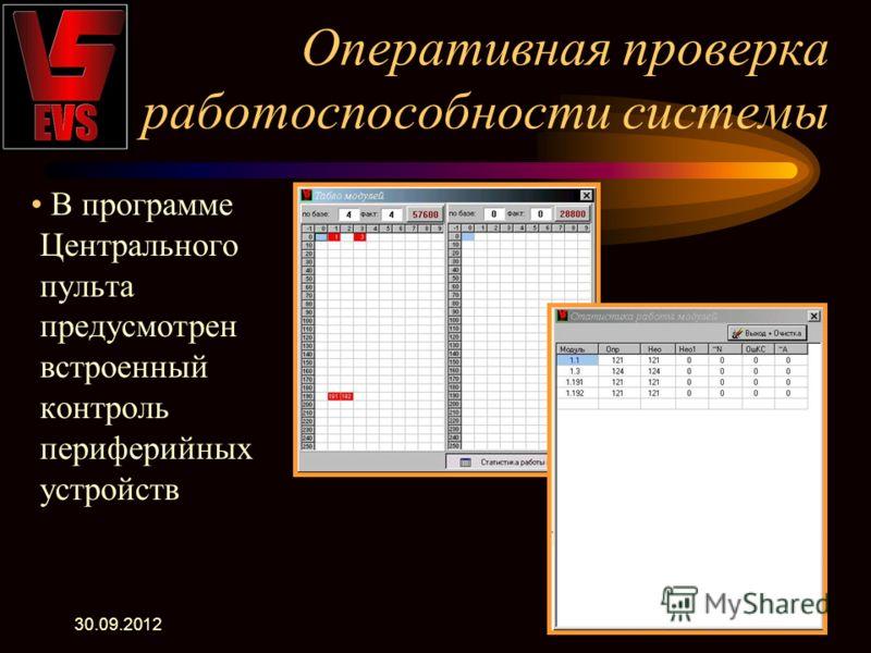 22.07.2012 Ведение протокола событий Все события, произошедшие на объекте фиксируются в протоколе
