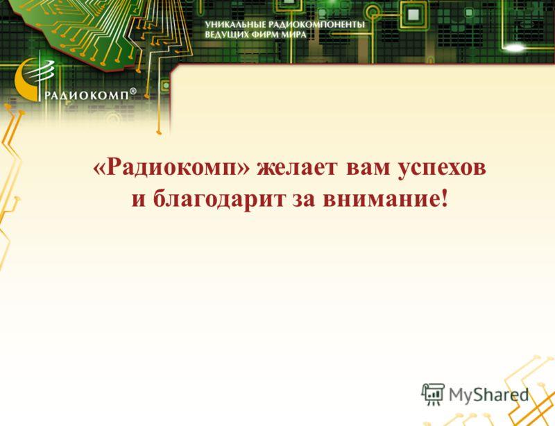 «Радиокомп» желает вам успехов и благодарит за внимание!