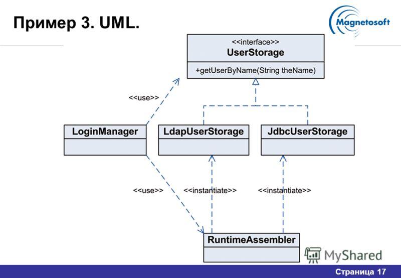 Страница 17 Пример 3. UML.