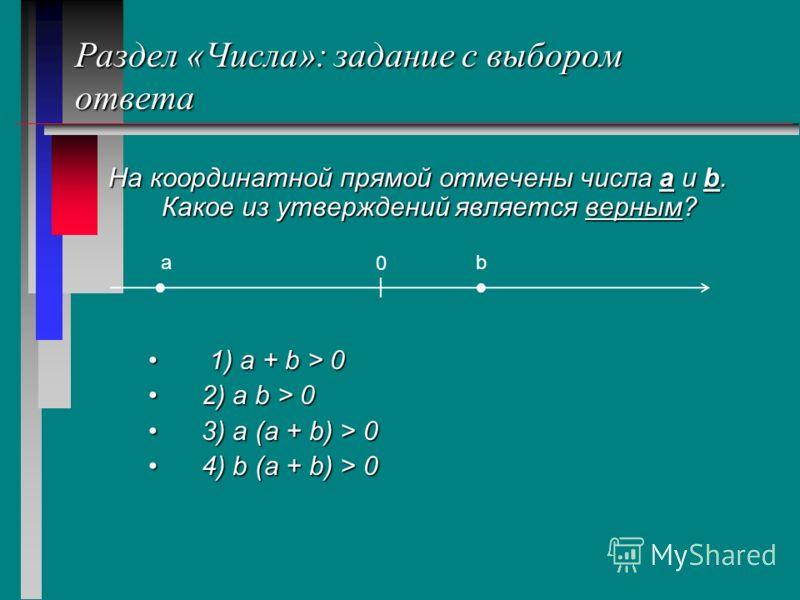 Раздел «Преобразование выражений»:задание с открытом ответом Найдите площадь прямоугольного треугольника, катеты которого равны см и см. Ответ. 21 кв.см