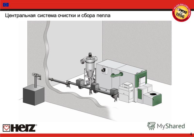 4 Центральная система очистки и сбора пепла