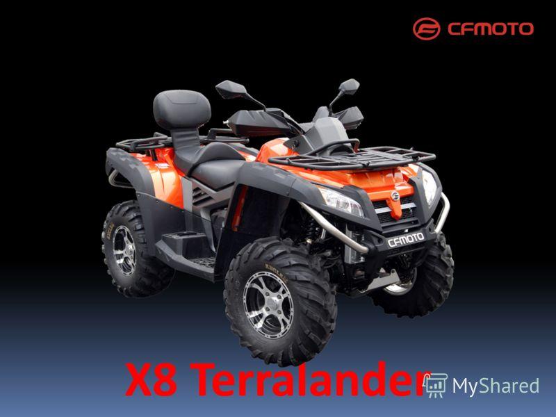 X8 Terralander