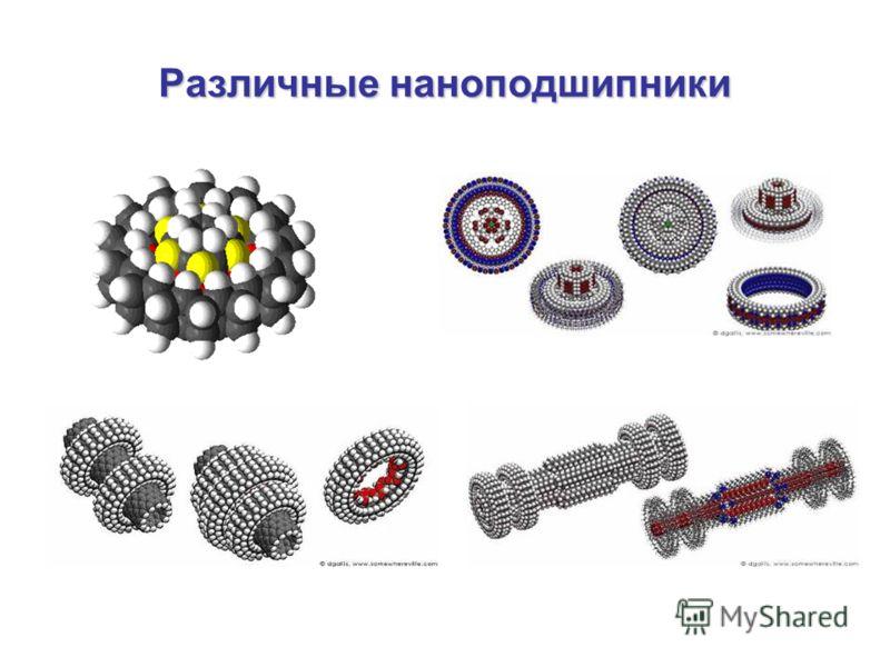 Различные наноподшипники