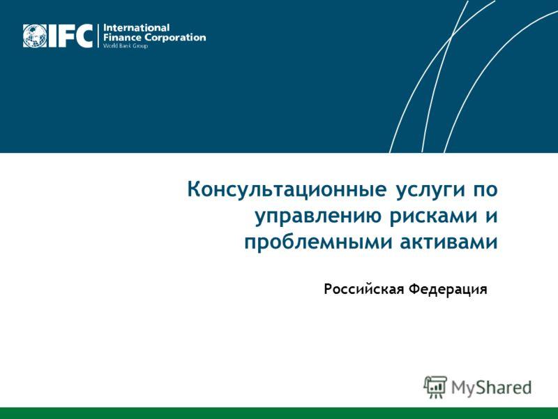 Консультационные услуги по управлению рисками и проблемными активами Российская Федерация