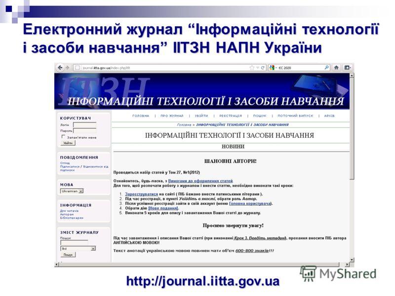 http://osvita-dim.com.ua/ Видання про інноваційні ІКТН в Україні