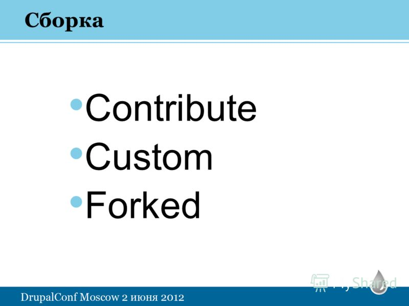 Contribute Custom Forked