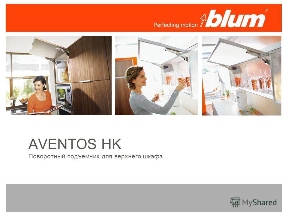 AVENTOS HK Поворотный подъемник для верхнего шкафа