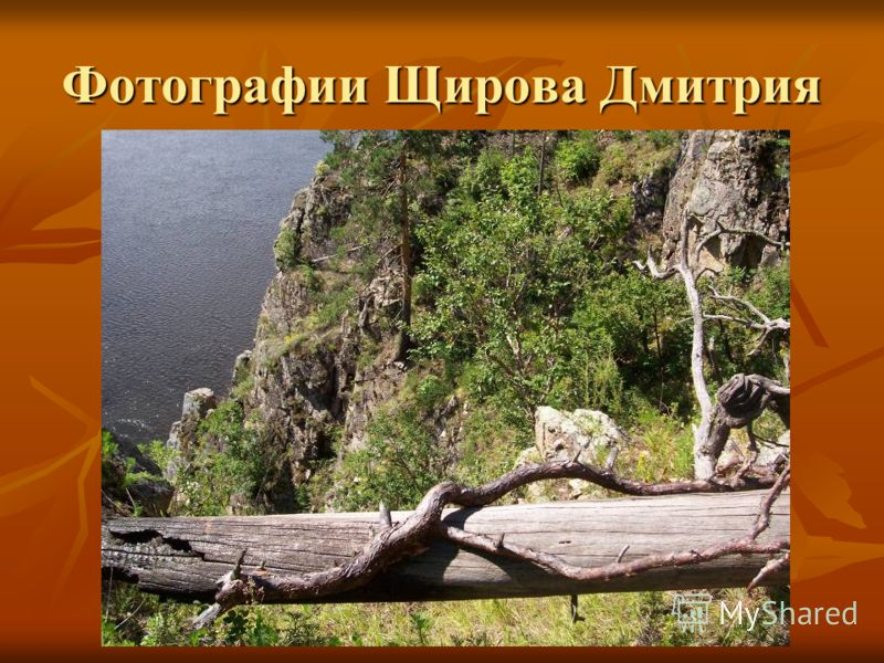 Фотографии Щирова Дмитрия