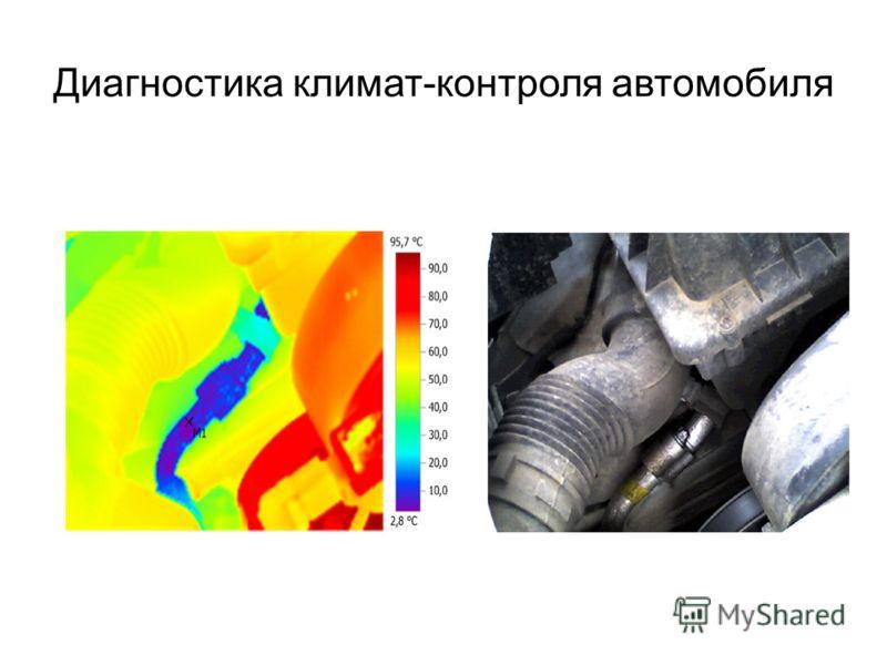 Диагностика климат-контроля автомобиля