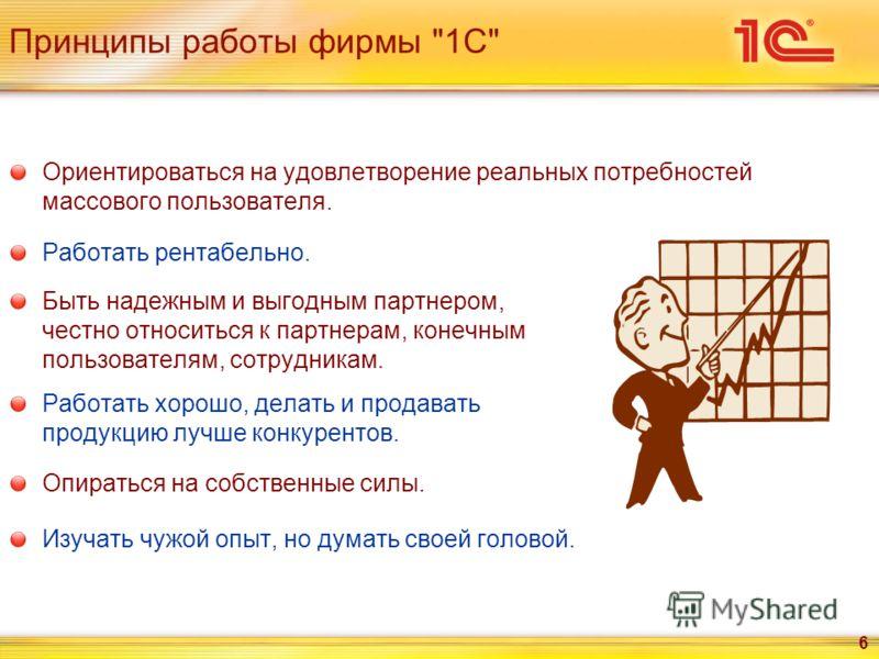 6 Принципы работы фирмы