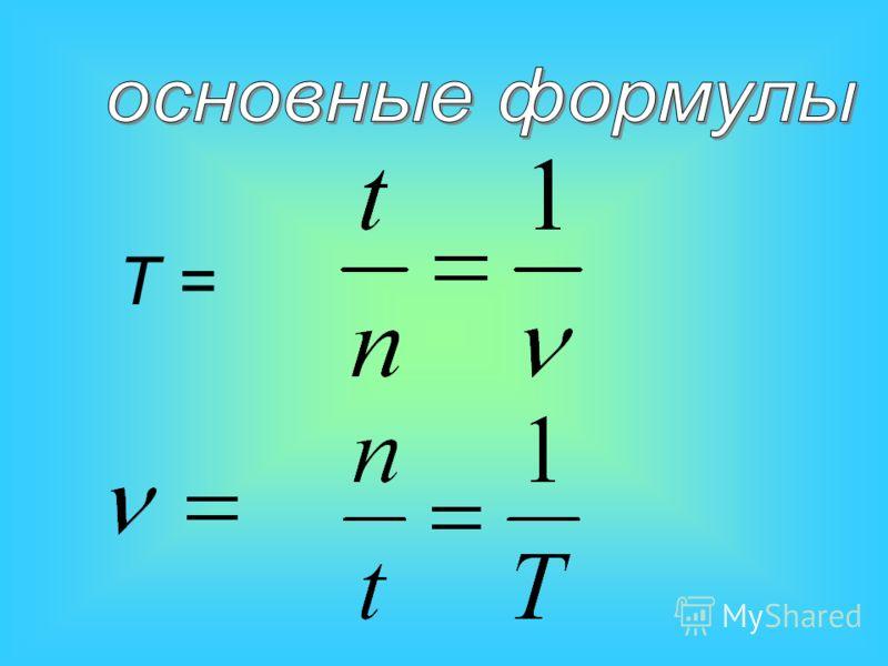 Период обращения- это время за которое совершается один полный оборот. Частота- это число оборотов, совершаемых за 1с.