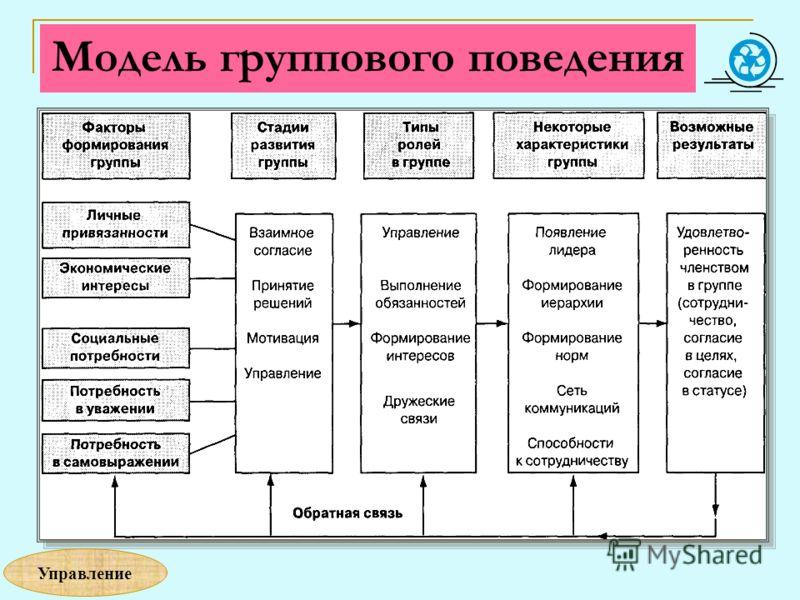 Модель группового поведения